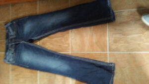Women's silver jeans brand new