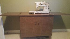 Vintage Singer Slant-O-Matic Convertible sewing machine