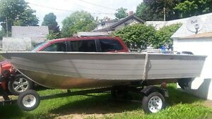 14ft. Aluminum 'Canadian UltraCraft' boat package