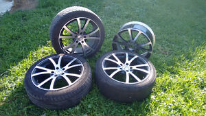 """18"""" Rims With 2 tires"""
