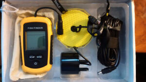 Fish Finder and depth reader: brand New in the box