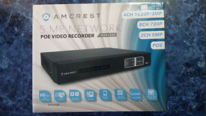 Video Surveillance - Amcrest PVR System