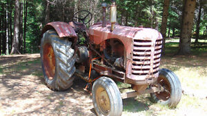 For Sale: 1950 Massey Harris Gas Tractor