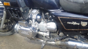 AMAZING DEAL!! WONT LAST!84 gold wing 1200 interstate parts bike