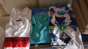 J lindeberg, true religion, puma and jack and jones shirts