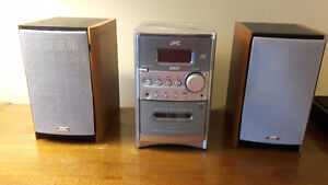 JVC Compact Component System with 2 speakers