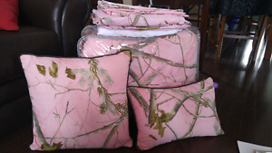 Pink Camo Cabela's Bedding (Queen)