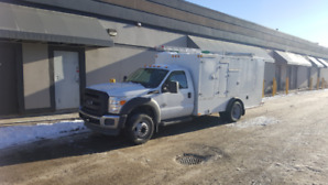 FOR SALE: 2015 F-450 Furnace Cleaning Vac Truck