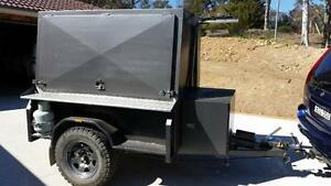 Enclosed Off Road Tradies or Camping Trailer Queanbeyan Queanbeyan Area Preview