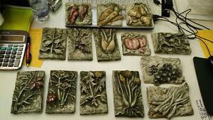 Plaque décoratives