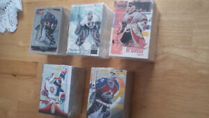COLLECTION CARTES HOCKEY COMPLETES