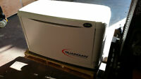 Used 8kW Generac air-cooled home standby generator