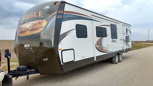 2013 JAYCO EAGLE 314 BDS FOR RENT + For Sale after this season