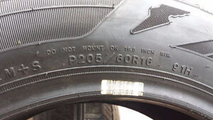 p205/60R16 GOODYEAR ASSURANCE 1 TIRE ONLY London Ontario image 4