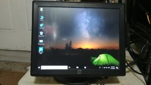 Elo 15-inch Touch screen LCD monitor for POS & Card reader