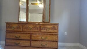 Bedroom Suite - Dresser with Mirror, 2 night stands, chest