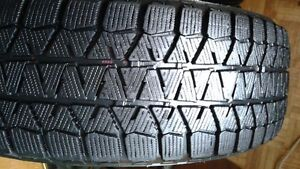 2 - Bridgestone winter tires. 185/65R15. $80.00