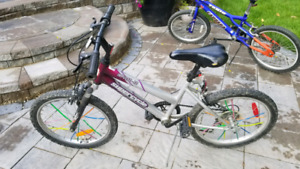 Unisex bike for 9-12 year olds