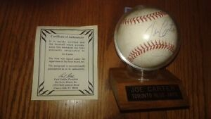 Joe Carter Signed World Series Baseball!!!!