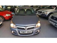 2007 VAUXHALL ASTRA SXI 16V TWINPORT Silver Manual Petrol