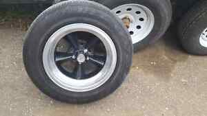 Chevy 5x120 15 inch keystone 5 spoke rims