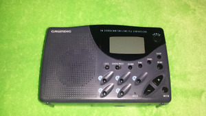 For sale, grundig bands radio. Still available.