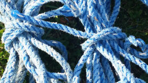 Seaside Nautical Rope Used for Projects, Home, Beach Decor, Art