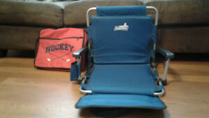 2 stadium chairs