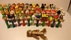 Vintage Pez collection