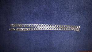 Heavy sterling silver mens chain St. John's Newfoundland image 1