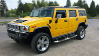 2004 HUMMER H2 4WD Leather/Sunroof! 22 inch Chrome! BEAUTY!