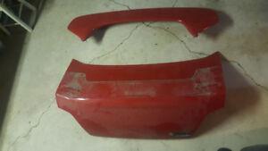 02-07 Subaru Impreza Trunk Lid and Spoiler