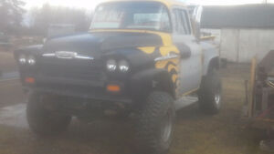 55-59 chev/gmc shortbox parts MANY OTHER 4X4'S