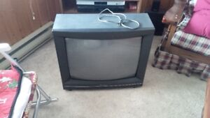"Hitachi 27"" CRT TV and Remote Free!"
