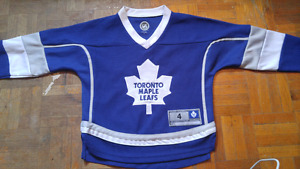 Dion Phaneuf TML jersey (child size 4)