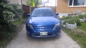 2012 Ford fusion Awd sel