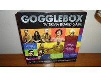 Gogglexbox TV Trivia Board Game - brand new