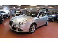 2010 ALFA ROMEO GIULIETTA 1.4 TB MultiAir Lusso [Start Stop] 6 Speed LED Lights