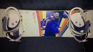 Used Burton Board with Burton Bindings 167cm
