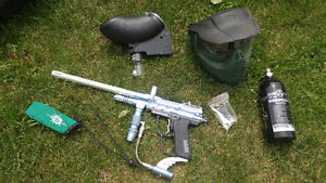 Paintball marker and accessories