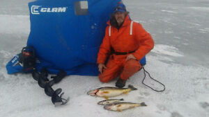 ICE DOCTOR portable ice fishing hut rentals