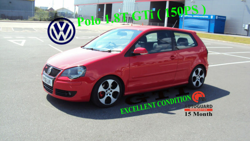 2006 volkswagen polo 1 8t gti 150ps in leckwith cardiff gumtree. Black Bedroom Furniture Sets. Home Design Ideas