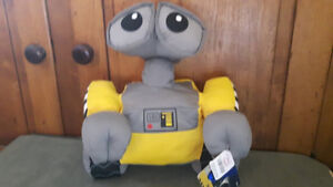 """Wall-E Disney Store Exclusive Patch 12"""" Tall Stuffed Animal Plus"""
