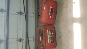 2  marine gas cans