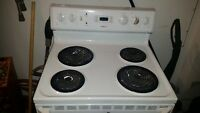 "30"" Electric Stove - White"