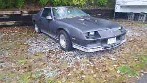 82 Chevrolet Camaro Z28 with T tops