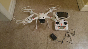 MJX X101 quadcopter with 720p camera