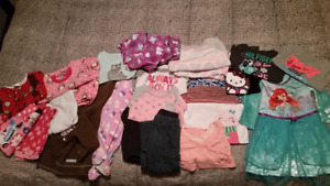 2T/3T Girls Clothing Lot