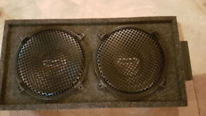 Car Subwoofers in box with Amp