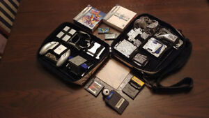 Gameboy Advanced SP Accessories with 7 games